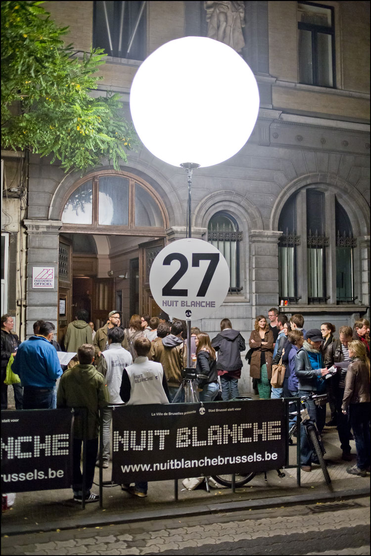 Nuit Blanche Brussels 2013 15